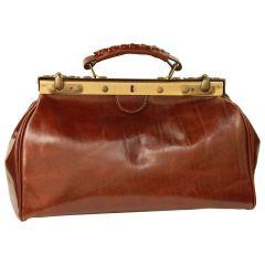 Leather bag - Brown