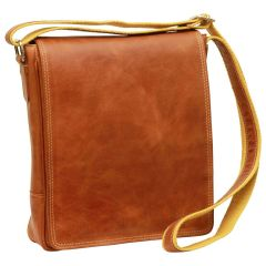 Leather I-Pad bag - Brown Colonial