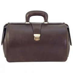 Leather Doctor's Bag – Dark Brown