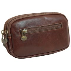 leather belt bag – brown
