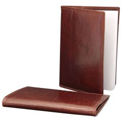 Leather Daily Planner - Brown