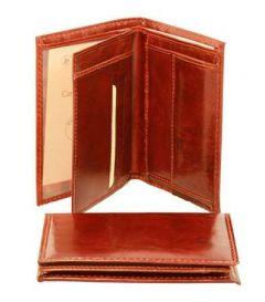 Three part wallet - Brown