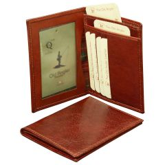 Leather Document Holder - Brown